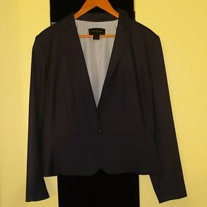 Ann Taylor Blazer Very Dark Blue
